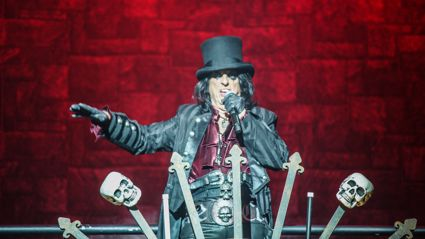 Alice Cooper live in Auckland