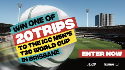 Win a trip to the ICC Men's T20 World Cup 2020 in Brisbane!