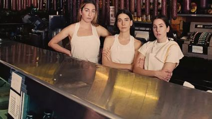 "Watch the video for the new HAIM single ""The Steps"""