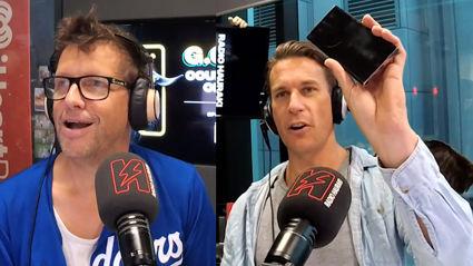 Jerry got a new phone from Samsung and Matt didn't...