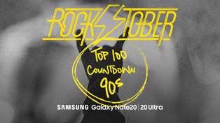 ROCKTOBER Top 100 Countdown - 90s