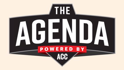 "The Agenda - ""Israel Adesanya Sit Down! We Have The Double Luge Team Here!"""