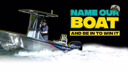 Name our boat and be into win it!