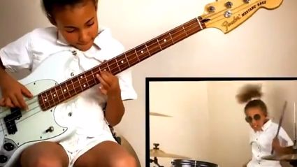 "Muse applaud Nandi Bushell's ""Hysteria"" bass cover"
