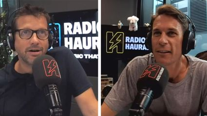 Matt & Jerry plus the Hauraki staff have a go at ACC & Hauraki Head G Lane