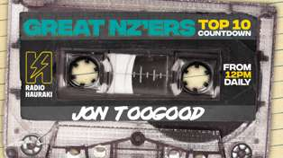 Great NZers Top 10 Mixtape - Jon Toogood