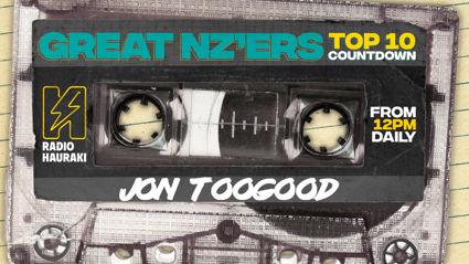 Great NZers Top 10 Mixtape - Jon Toogood