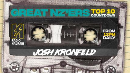 Great NZers Top 10 Mixtape - Josh Kronfeld
