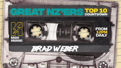 Great NZers Top 10 Mixtape - Brad Weber