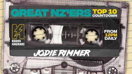 Great NZers Top 10 Mixtape - Jodie Rimmer