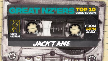 Great NZers Top 10 Mixtape - Jack Tame