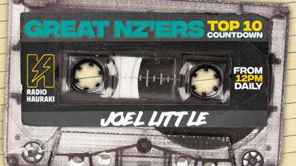 Great NZers Top 10 Mixtape - Joel Little