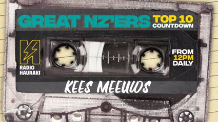 Great NZers Top 10 Mixtape - Kees Meeuws