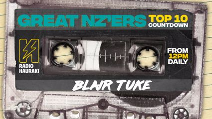 Great NZers Top 10 Mixtape - Blair Tuke