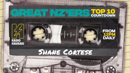 Great NZers Top 10 Mixtape - Shane Cortese