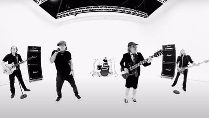 "Watch AC/DC's official music video for ""Realize"""