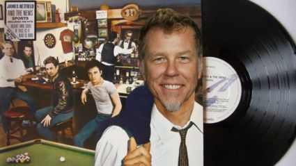 "Listen to this amazing Huey Lewis & Metallica mashup ""Hip To Be The Sandman"""