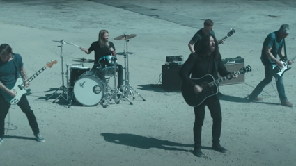 "Foo Fighters personify poignant lyrics in ""Waiting On A War"" video"