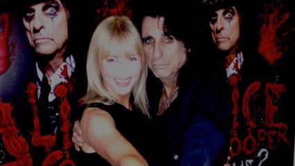 Tracey Donaldson interviews Alice Cooper