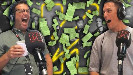 Matt & Jerry giveaway $5K to Vinny from Dunedin!
