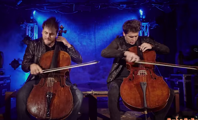 Cello Duet Becomes Epic Cover Of Iron Maiden's 'The Trooper'