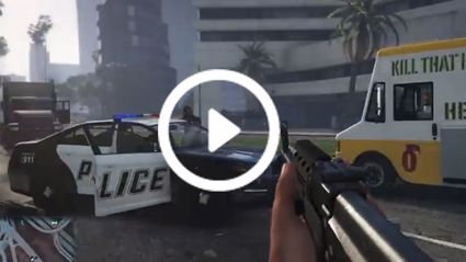 GTA V - First Person Gameplay Montage