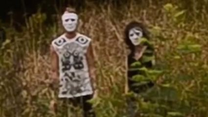 NZ School Students Stalked By Creepy Masked People With Gun